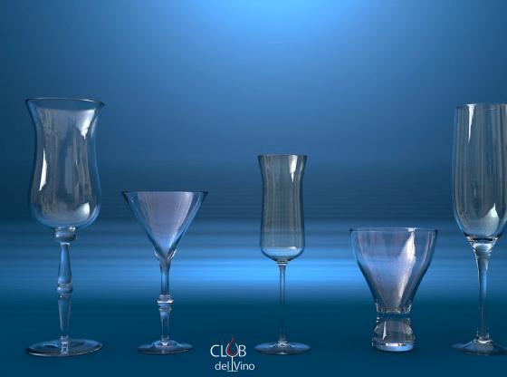 como escolher uma taça de vinho