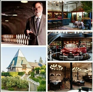 Francis Ford Coppola Winery - o interno