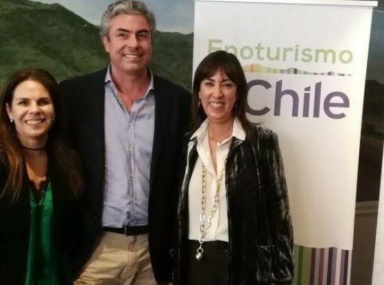 O governo e o Chile privado trabalham em Eno Tourism
