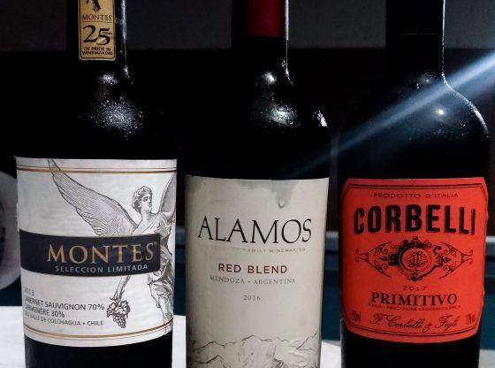 Setlist de vinhos para degustar com os amigos.