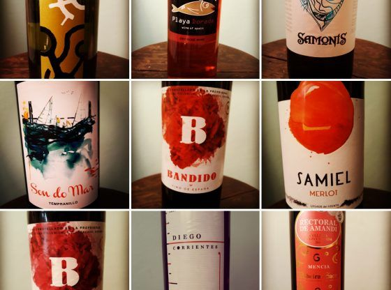 Vinhos de importação da Confraria Januario