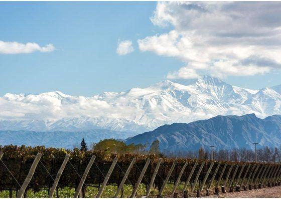 Mendoza, aos pés da Cordilheira dos Andes