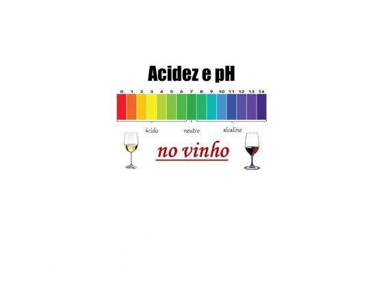 Acidez e pH no vinho