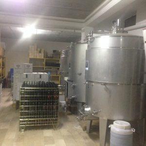 Affinamento del Vino in acciaio