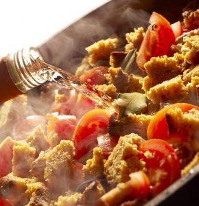 Vino e cunina: sfumare i piatti
