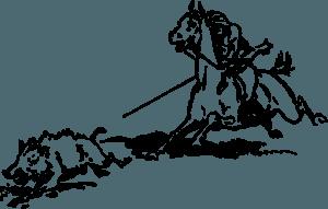 Caccia al Cinghiale nel Medio Evo