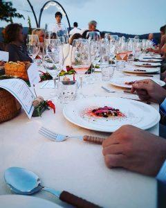 cena nella cantina Antinori