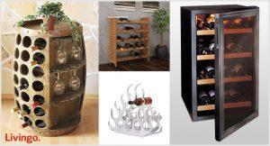 Livingo - cantinetta e porta bottiglie di vino