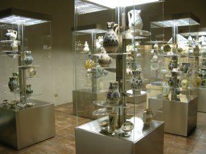 Sala ceramiche Museo del Vino