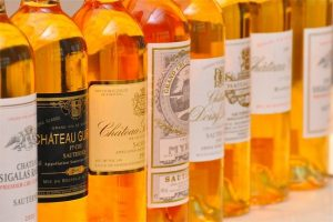 Sauternes sweet wine