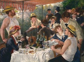 Le Déjeuner des Canotiers, Pierre-Auguste Renoir, 1881