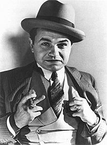 Photograph of Edward G. Robinson, 1931