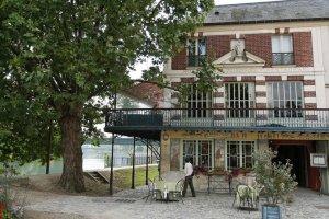 Maison Fournaise in Chatou, France near Paris