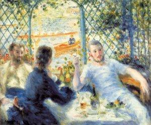 Dèjeuner au Bord de la Rivière, Renoir