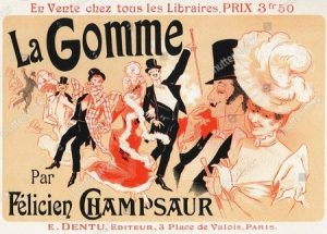 A French poster from the 1800's